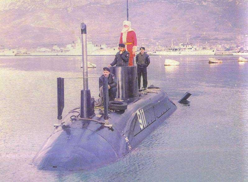 к 911 подводная лодка