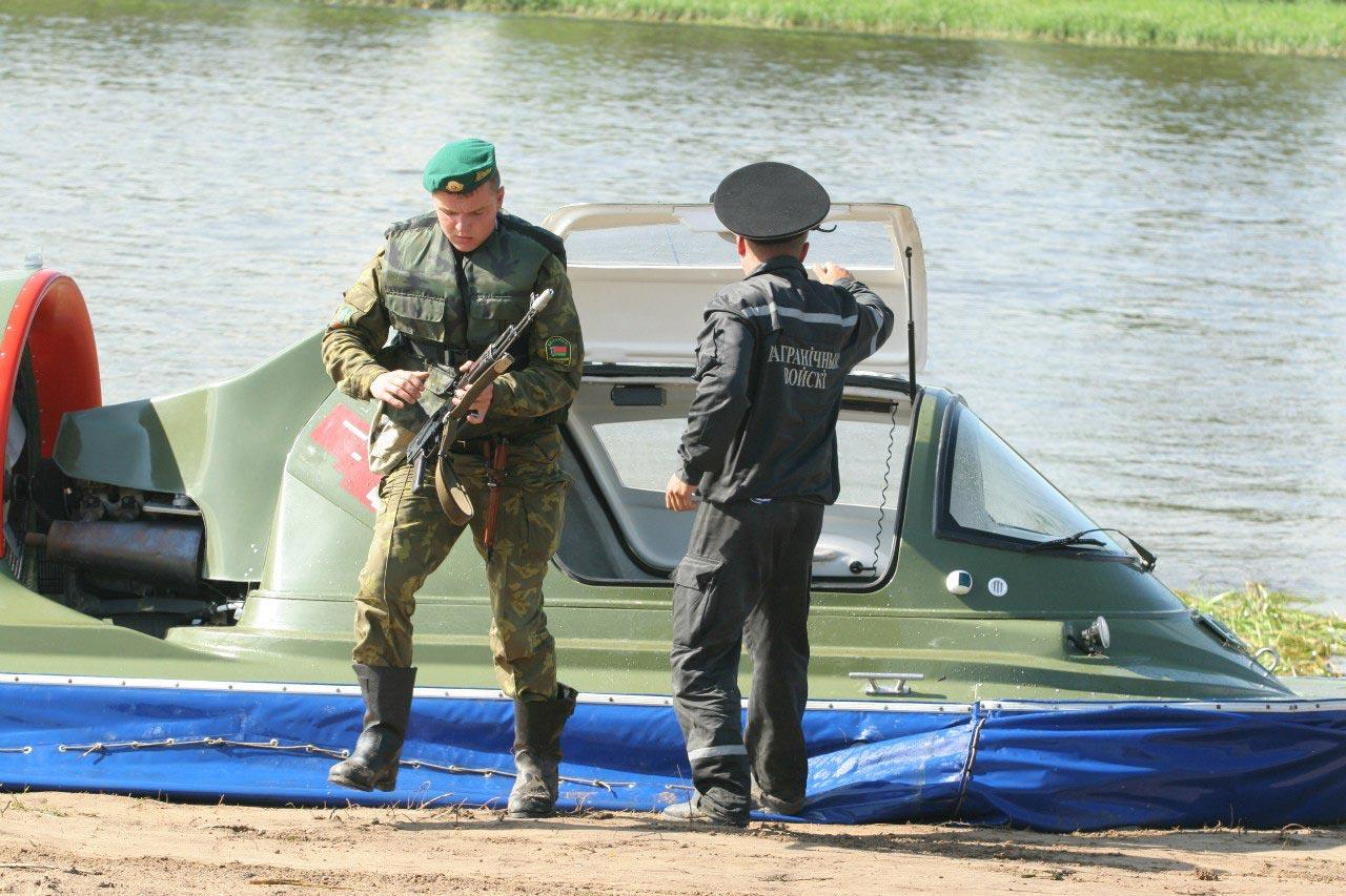 регистрация лодок у пограничников