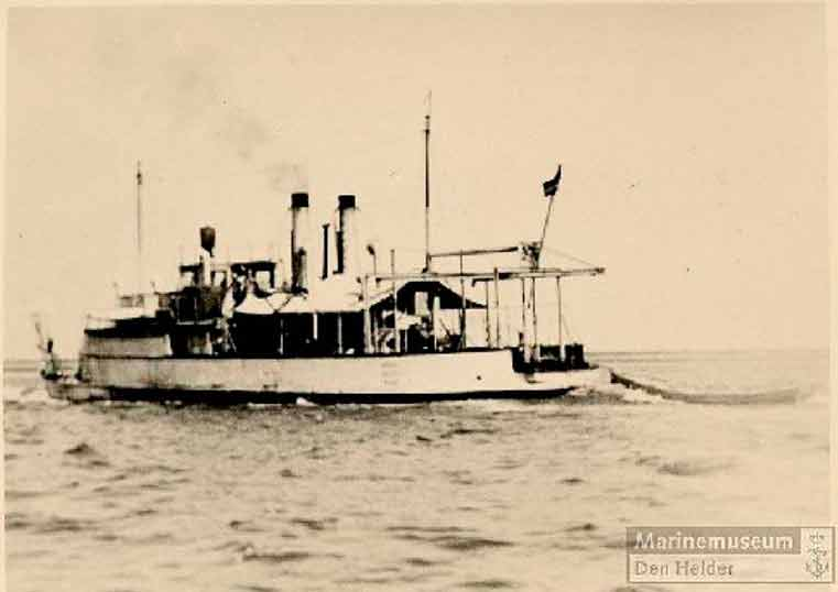 веспе канонерская лодка