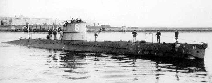 Подводная лодка onderzeeboot проекта electric