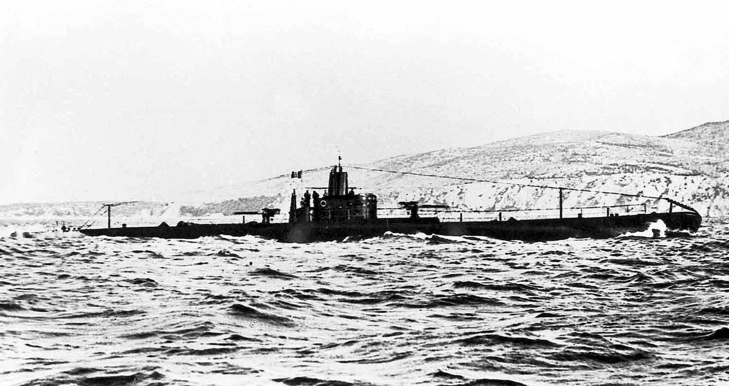 подводные лодки италии